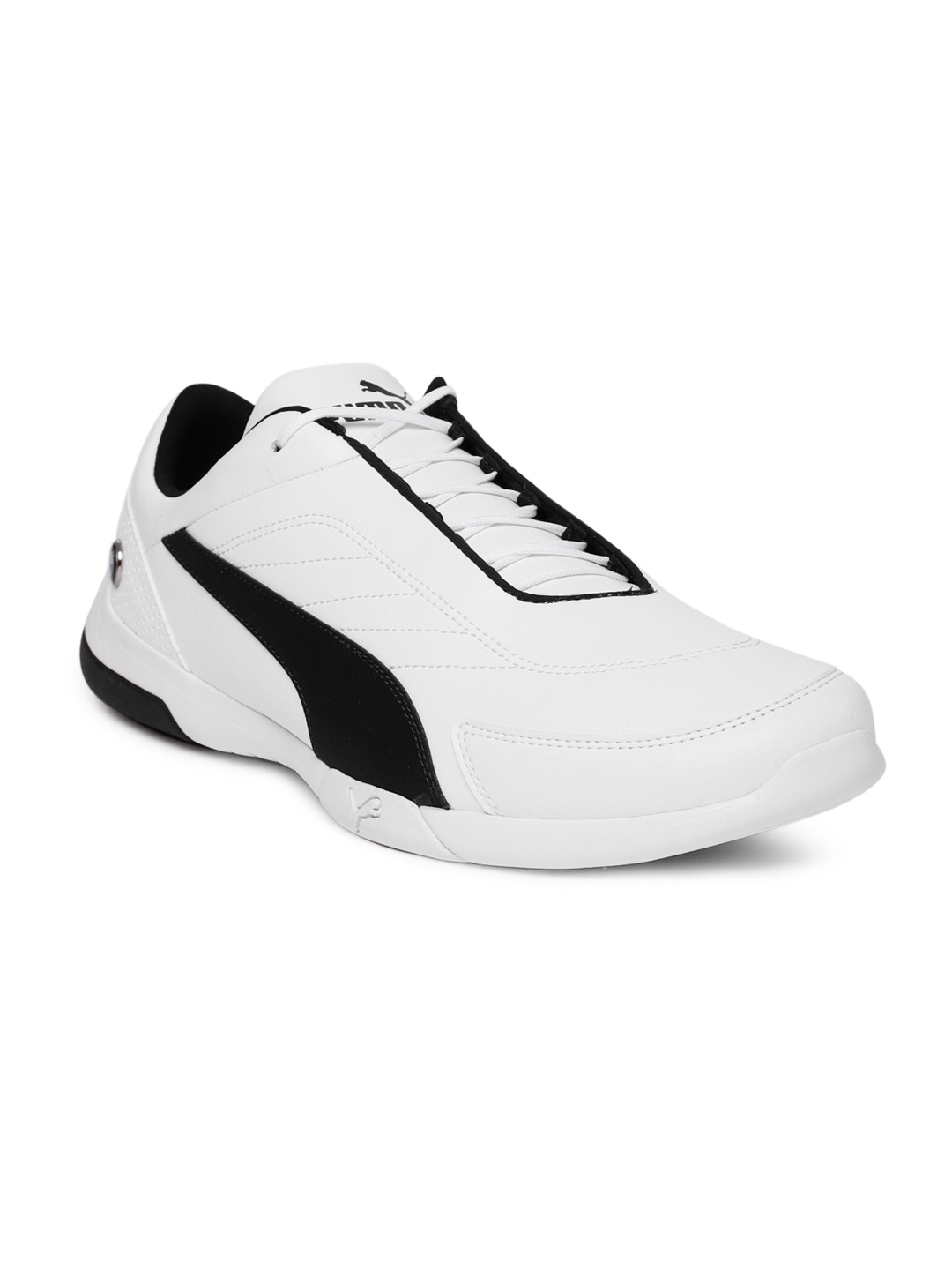 564a7cbbc4c Buy Puma Men White BMW MMS Kart Cat III Casual Shoes - Casual Shoes ...