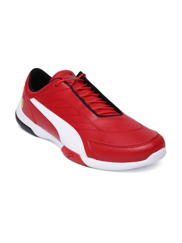 870c55f0d Buy Puma Men Red SF Kart Cat III Sneakers - Casual Shoes for Men ...