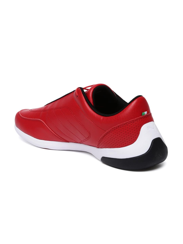 d6be8e1bb Buy Puma Men Red SF Kart Cat III Sneakers - Casual Shoes for Men ...