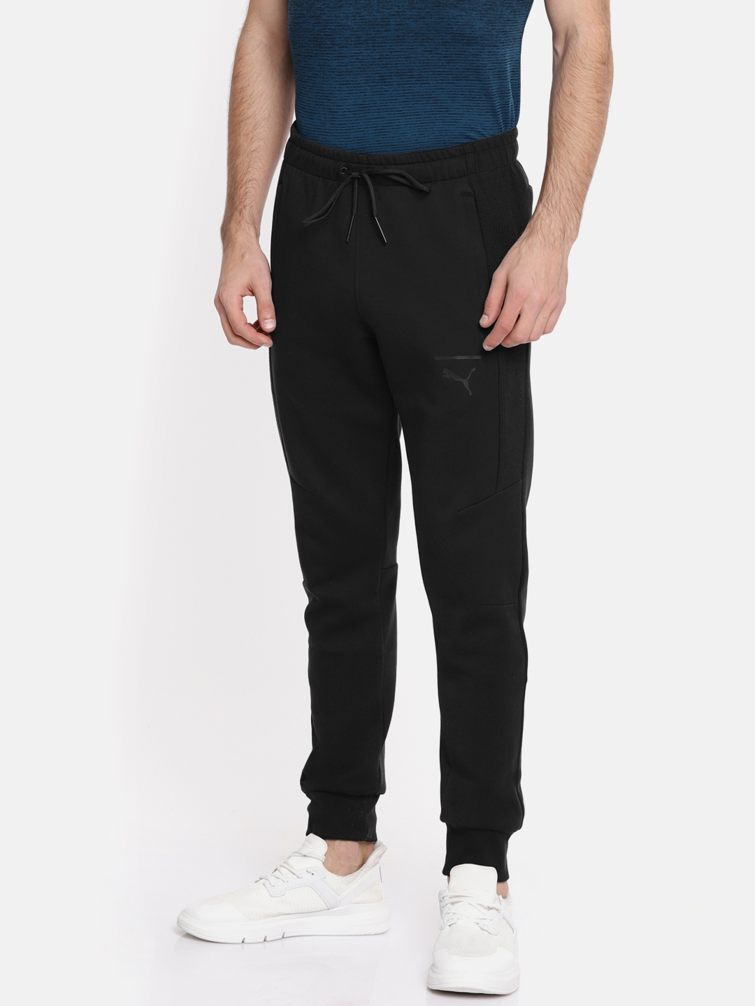 314226796 Buy Puma Men Black Solid Pace Joggers - Track Pants for Men 6937111 ...