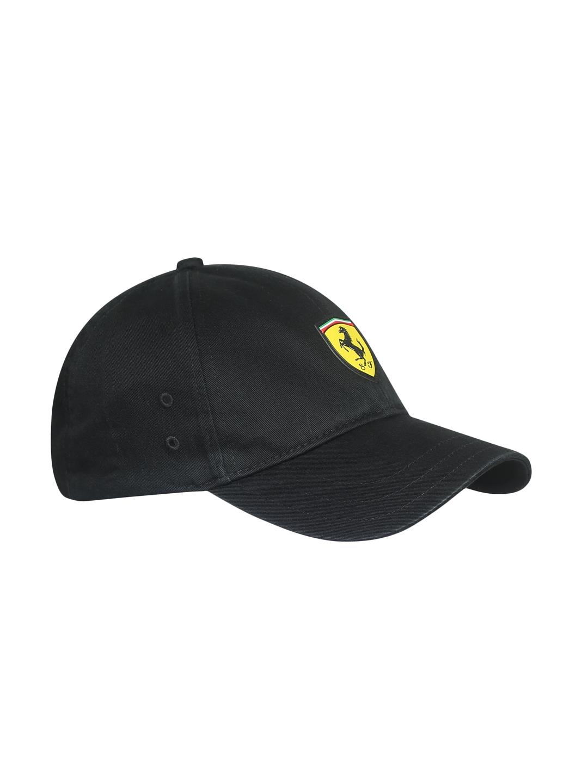 online store 61cab 8b7bb Puma Unisex Black Solid SF Fanwear Baseball Cap