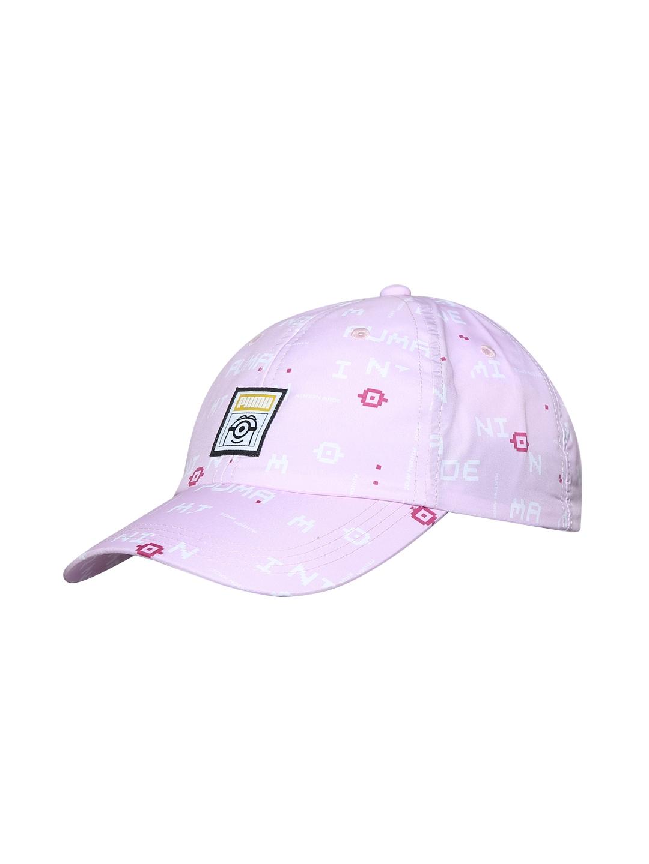 0d69fea8f15 Buy Puma Girls Pink Printed Minions Baseball Cap - Caps for Girls ...