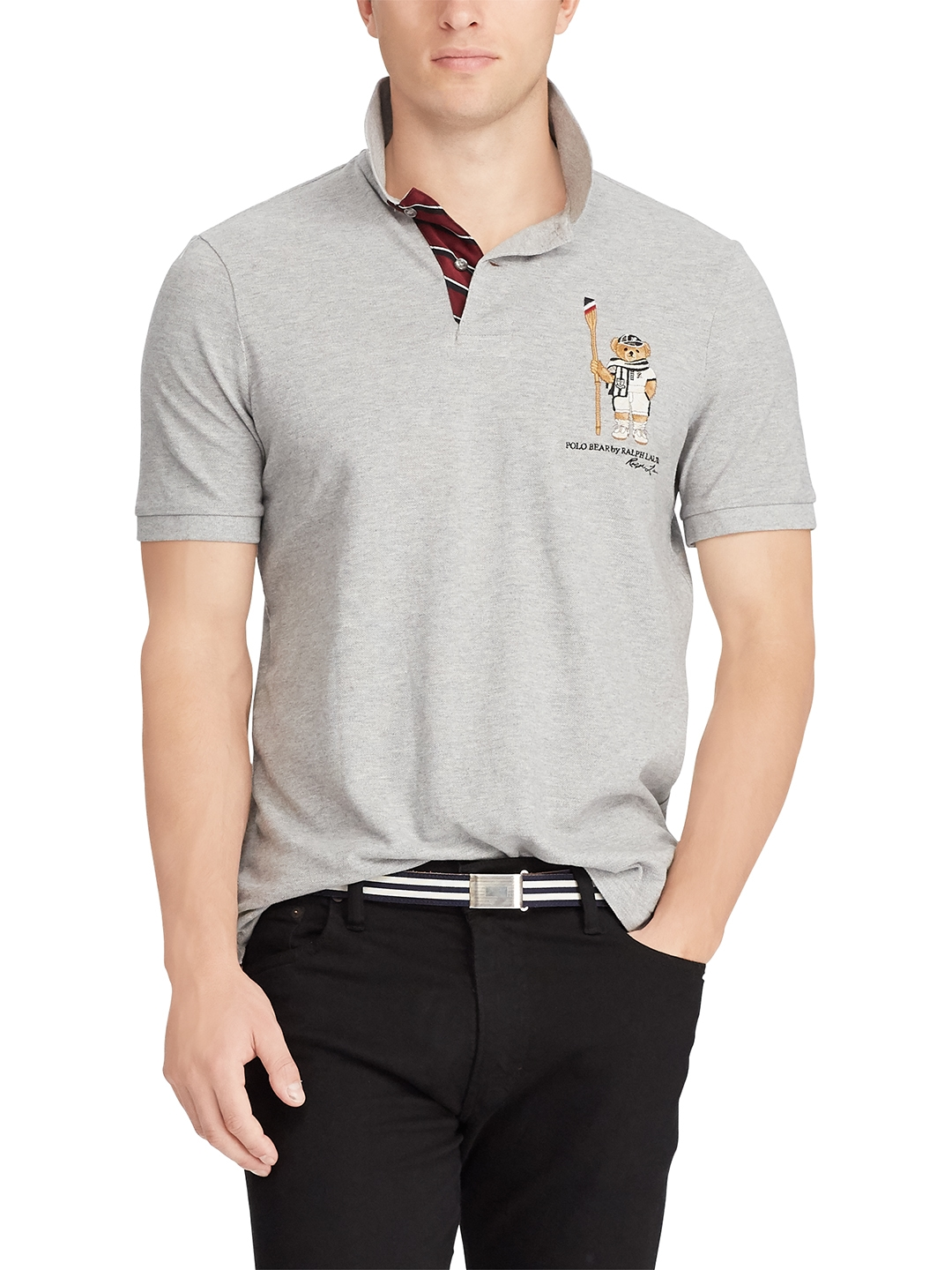 f65bf1212 Buy Polo Ralph Lauren Classic Fit Bear Polo Shirt - Tshirts for Men 6942402  | Myntra
