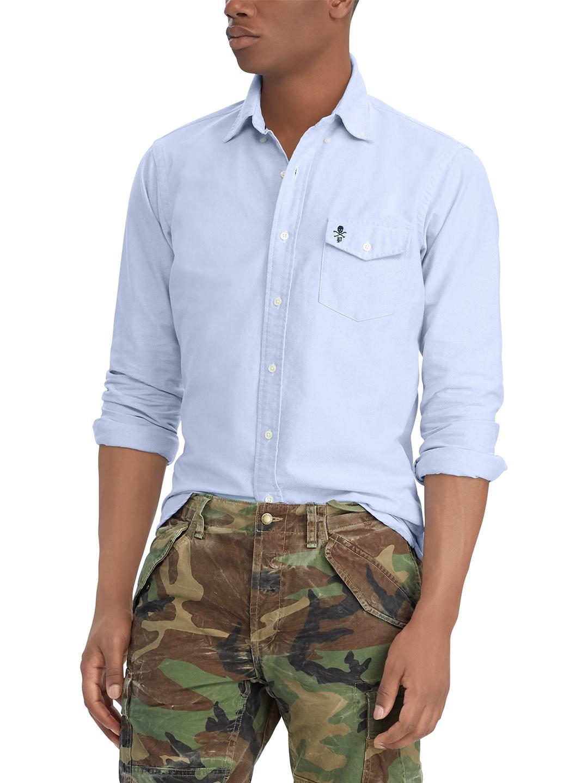 f6f1d18b Buy Polo Ralph Lauren Classic Fit Oxford Shirt - Shirts for Men ...