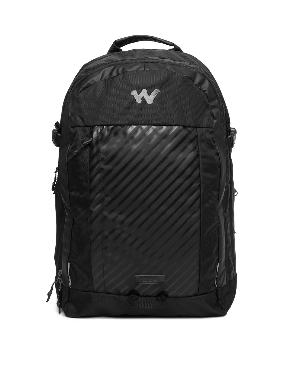 Wildcraft Unisex Black Acer Laptop Backpack