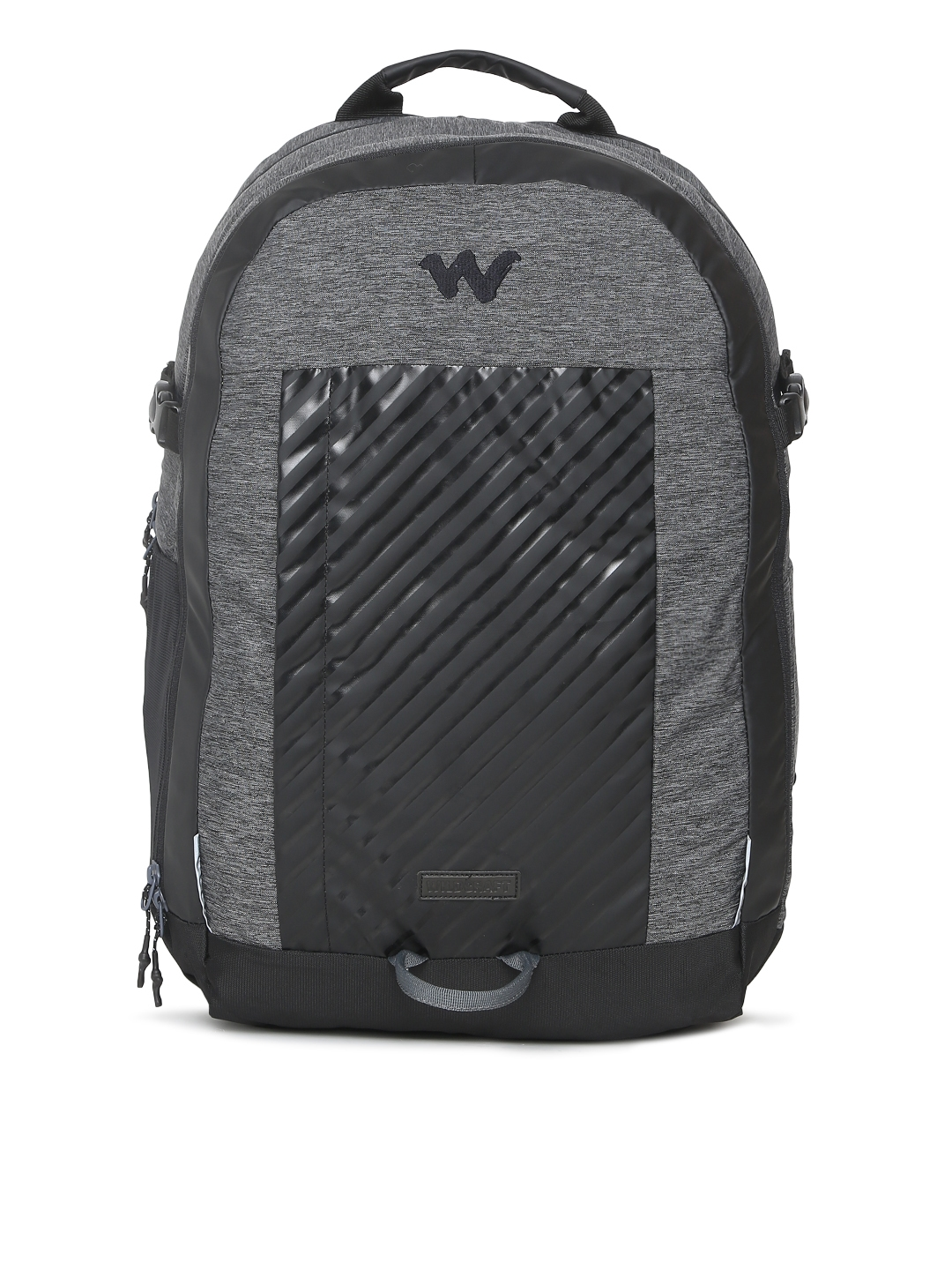 Wildcraft Unisex Grey   Black Colourblocked Acer Laptop Backpack