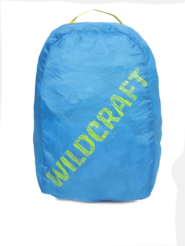 Wildcraft Unisex Blue Pac n Go Printed Backpack