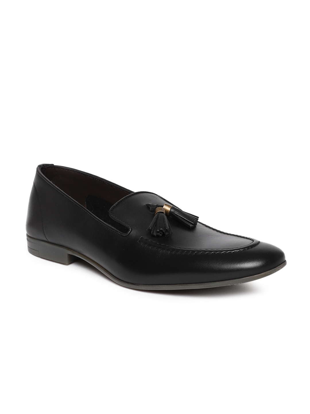 bb5a03ecc3d Buy Dune London Men Black REMY DI Leather Formal Loafers - Formal ...