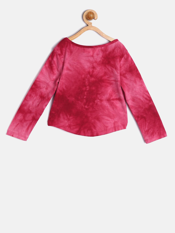 a5313cf3a66892 Buy Nauti Nati Girls Pink Embellished Top - Tops for Girls 6967647 ...