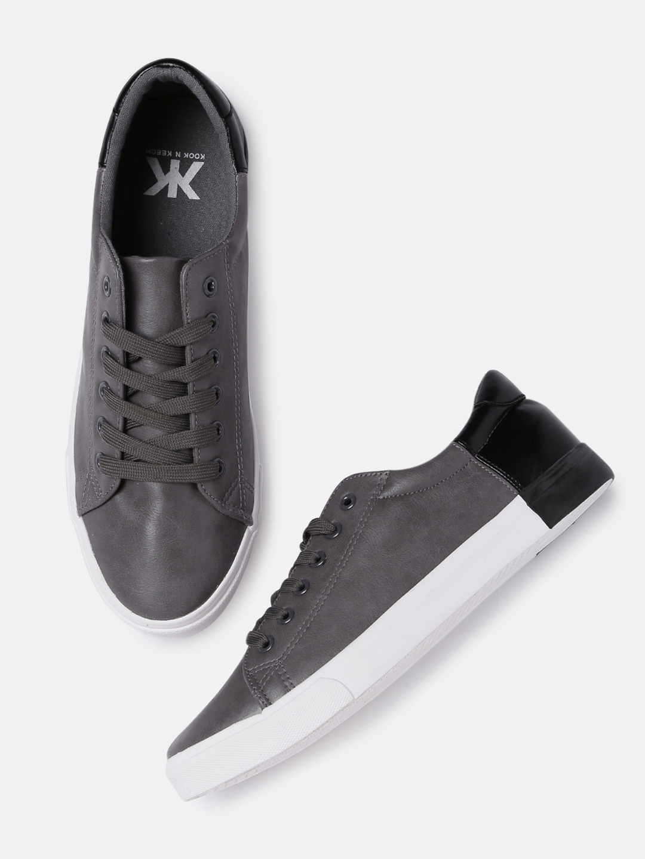 Buy Kook N Keech Men Grey \u0026 Black
