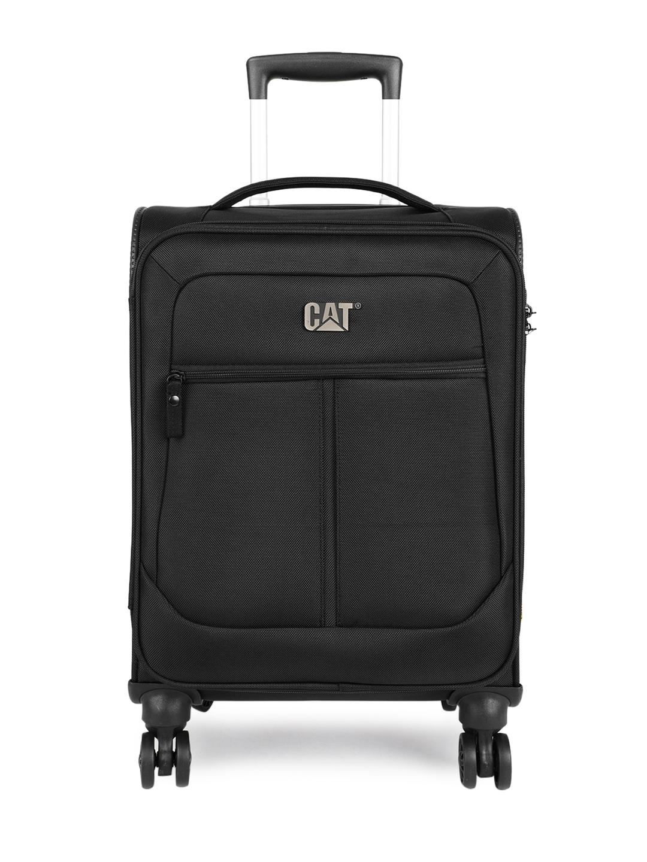 CAT Unisex Black Hammer 20  Softside Checkin Small Trolley Bag