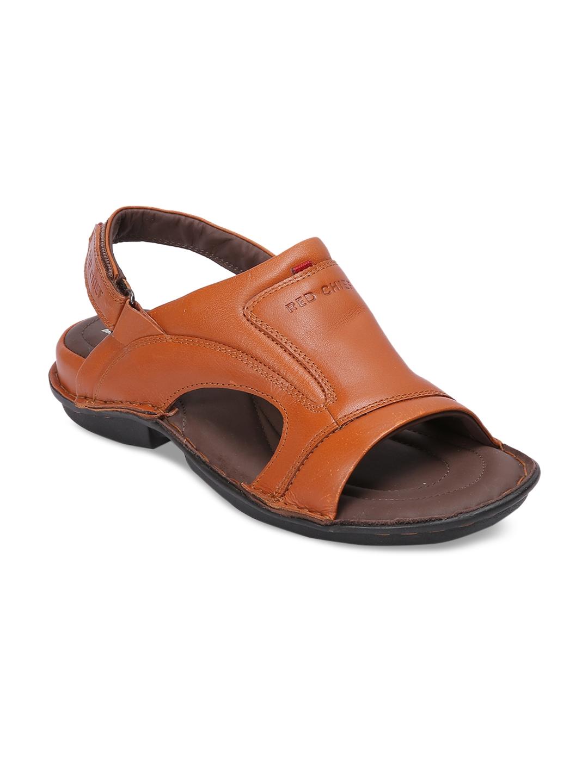 2daf14687 Buy Red Chief Men Tan Leather Comfort Sandals - Sandals for Men ...