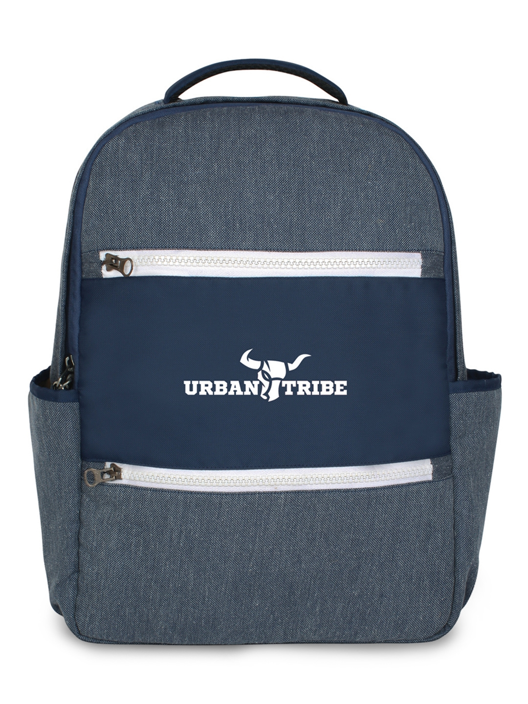 URBAN TRIBE Unisex Blue Solid Backpack