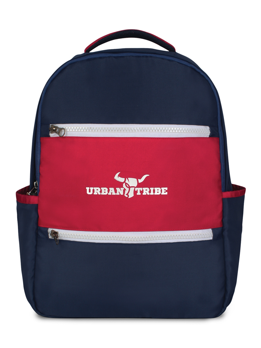 URBAN TRIBE Unisex Navy Blue Solid Backpack
