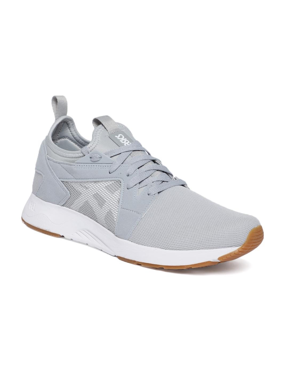 ASICS Tiger Men Grey Solid GEL LYTE V RB Sneakers