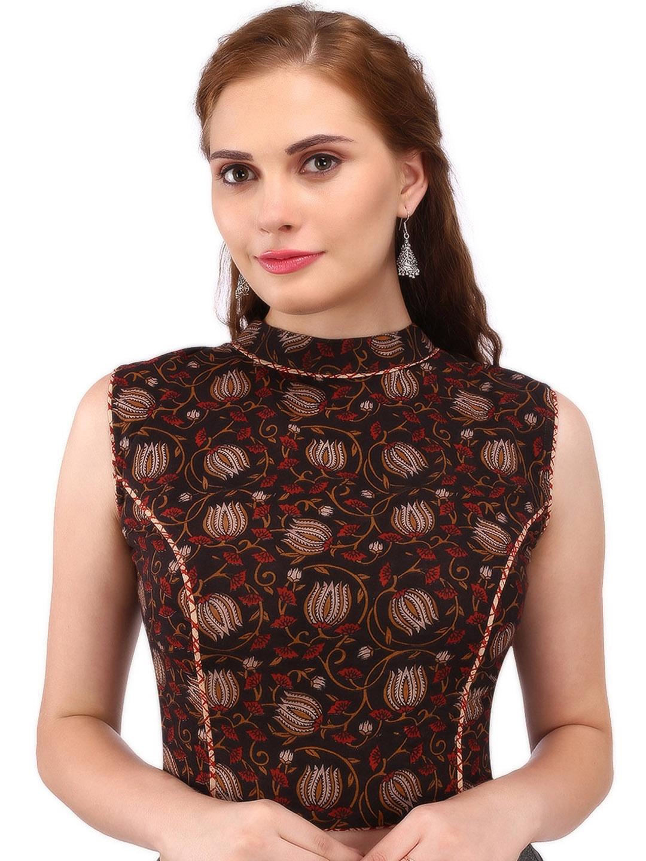 c14ffd57f38749 Yosshita & Neha Brown & Red Kalamkari Printed Blouse. This product is  already at its best price