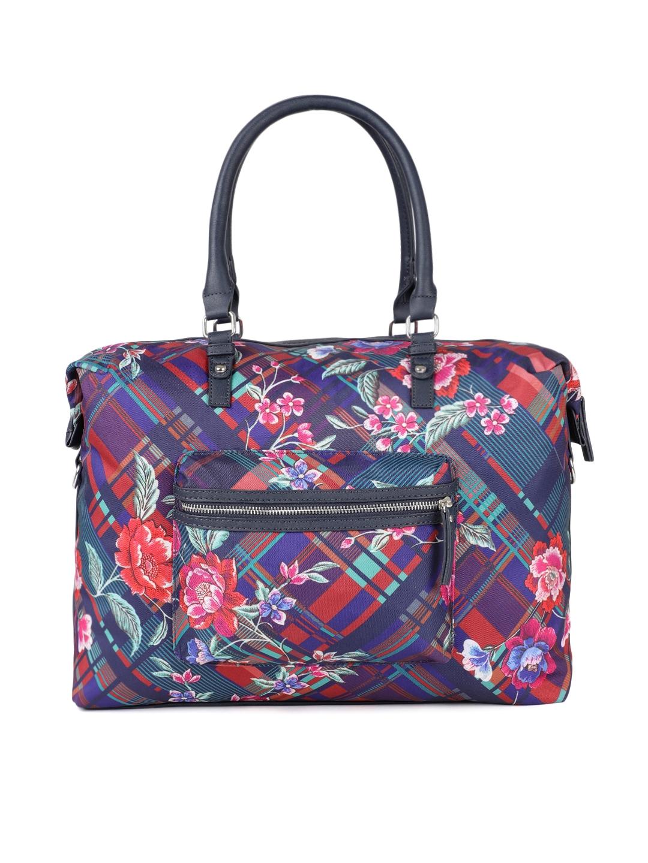 Accessorize Blue Printed Shoulder Bag