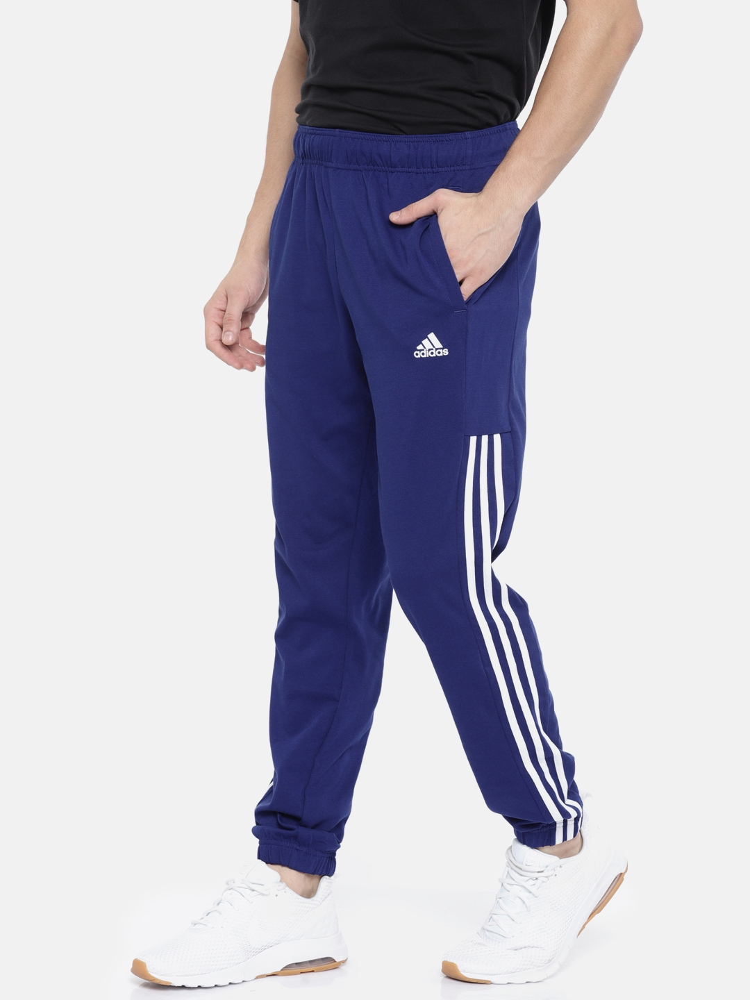 9c827e1d23c9 Buy ADIDAS Men Blue COMM M TPANTSJ Joggers - Track Pants for Men ...