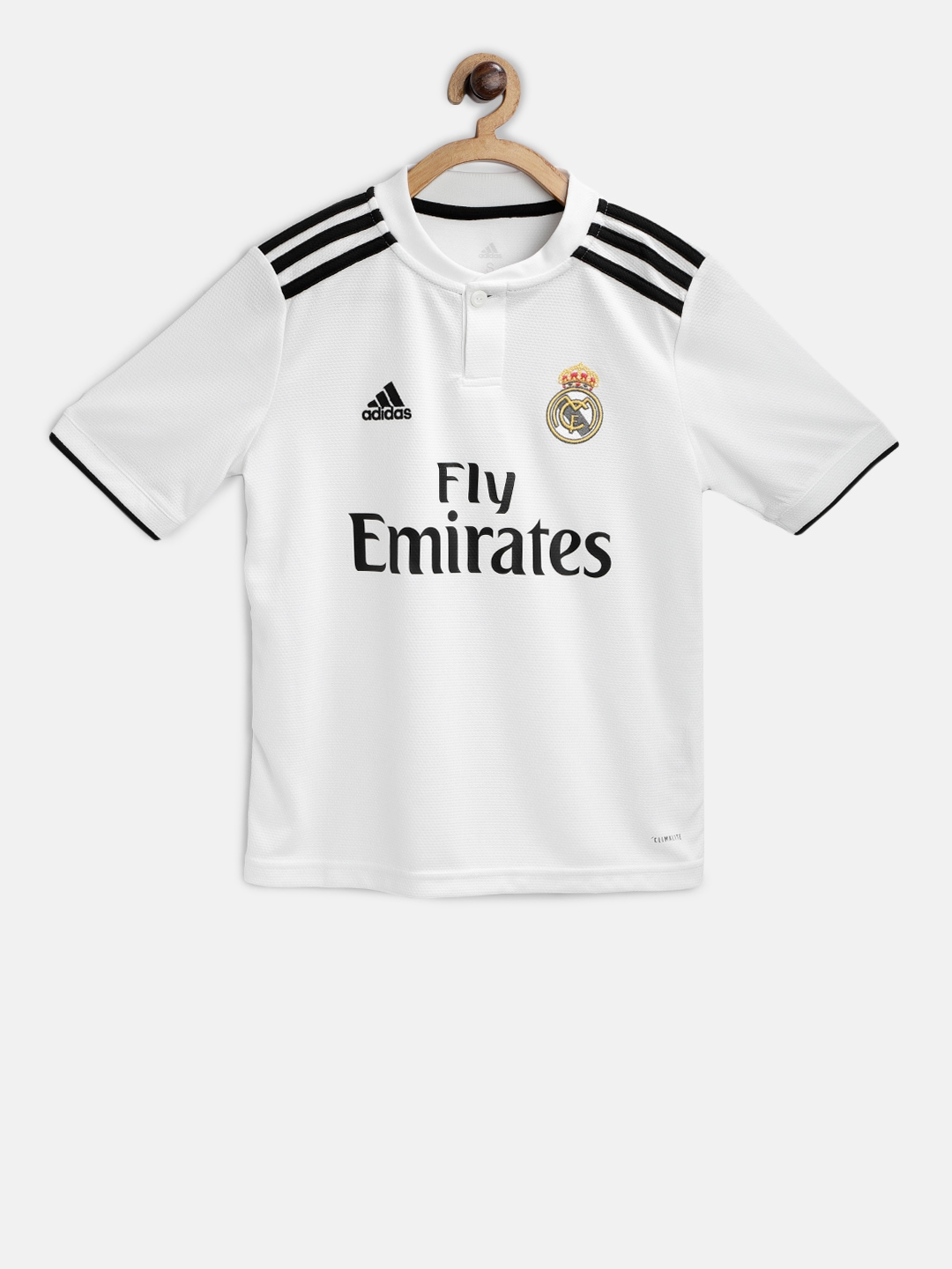04f82c533 Buy Adidas Boys White Printed Real Madrid Home Football Jersey ...