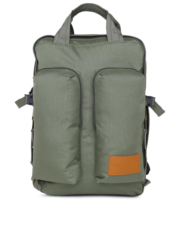 Original heißer verkauf rabatt Outlet zu verkaufen The North Face Unisex Olive Green Solid MINI CREVASSE Backpack