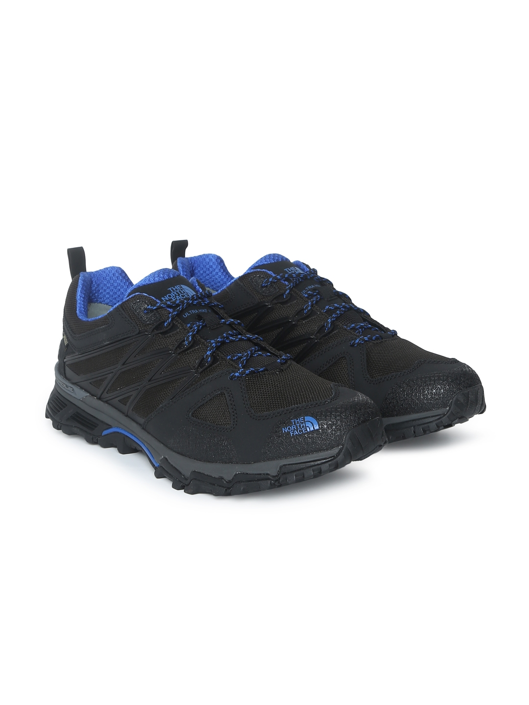 1efa1a78693 The North Face Men Black Solid Ultra Hike II GTX Waterproof Hiking Shoes