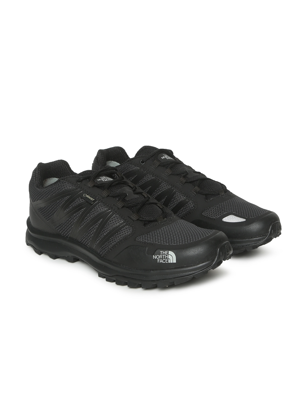4b85a7768 The North Face Men Black Solid Waterproof LITEWAVE FASTPACK GTX Hiking Shoes