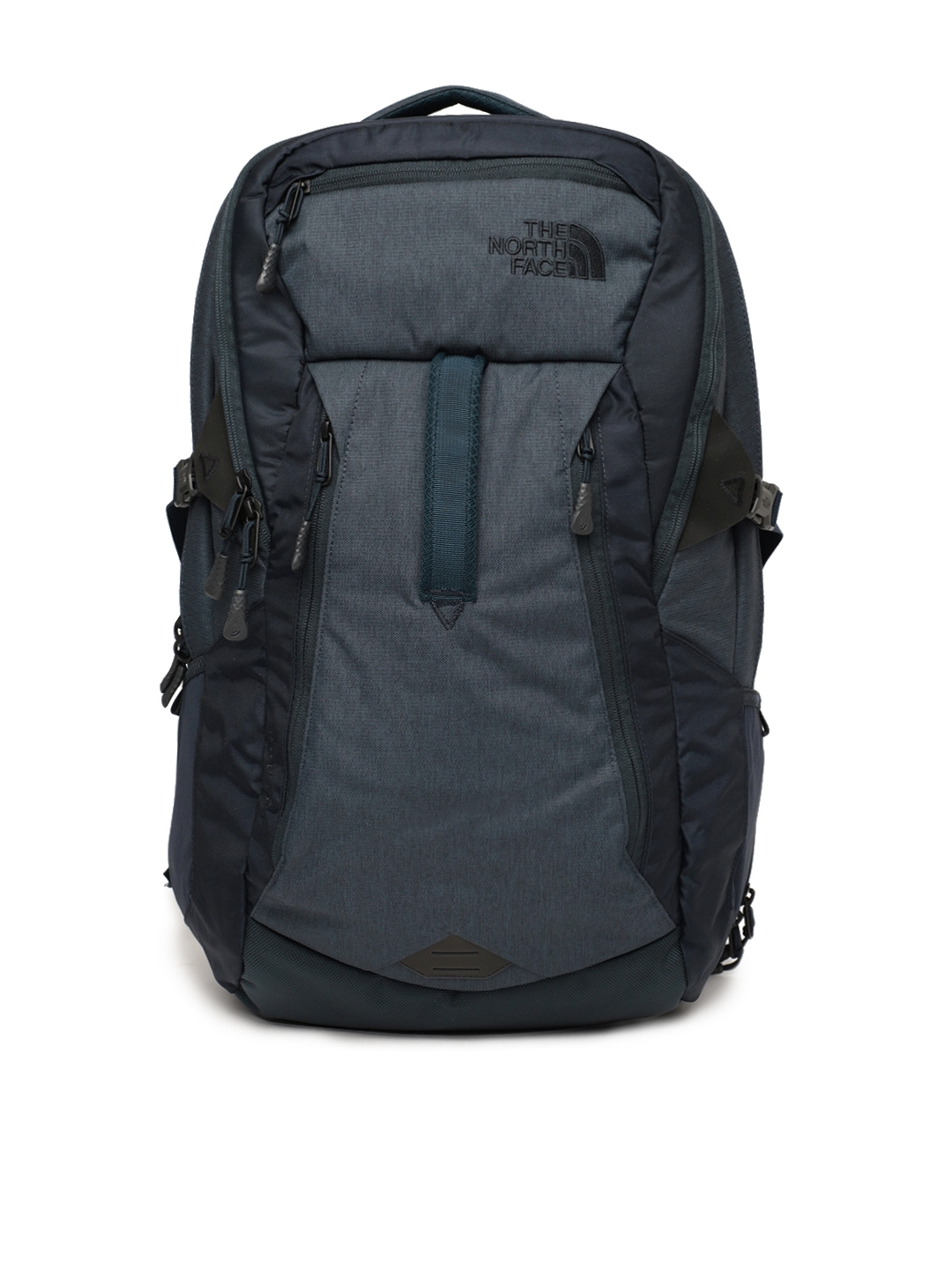 5b378211ebdb Buy The North Face Unisex Navy Blue Solid ROUTER Backpack ...