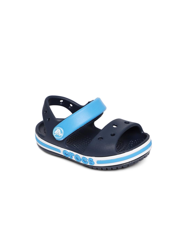 273bf41b6 Buy Crocs KIds Navy Blue Bayaband Clogs - Sandals for Unisex 7027484 ...