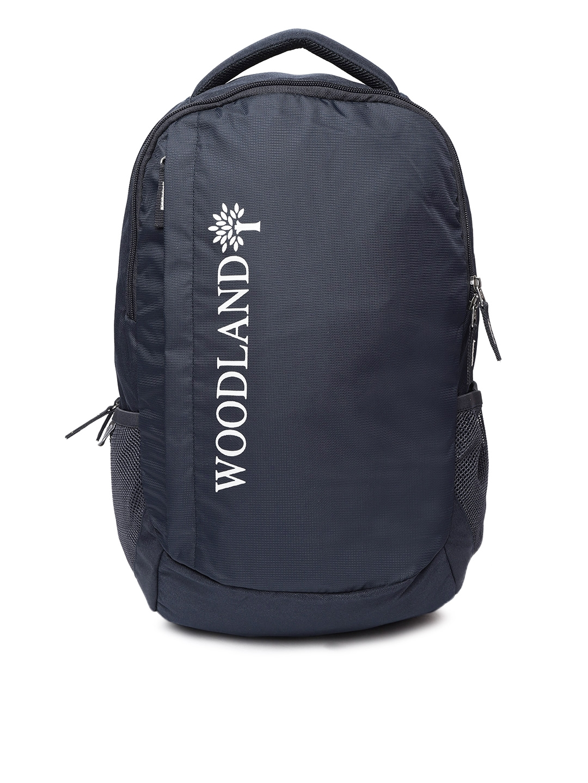 94157170938 Buy Woodland Pro Planet Unisex Navy Brand Logo Print Laptop Backpack ...