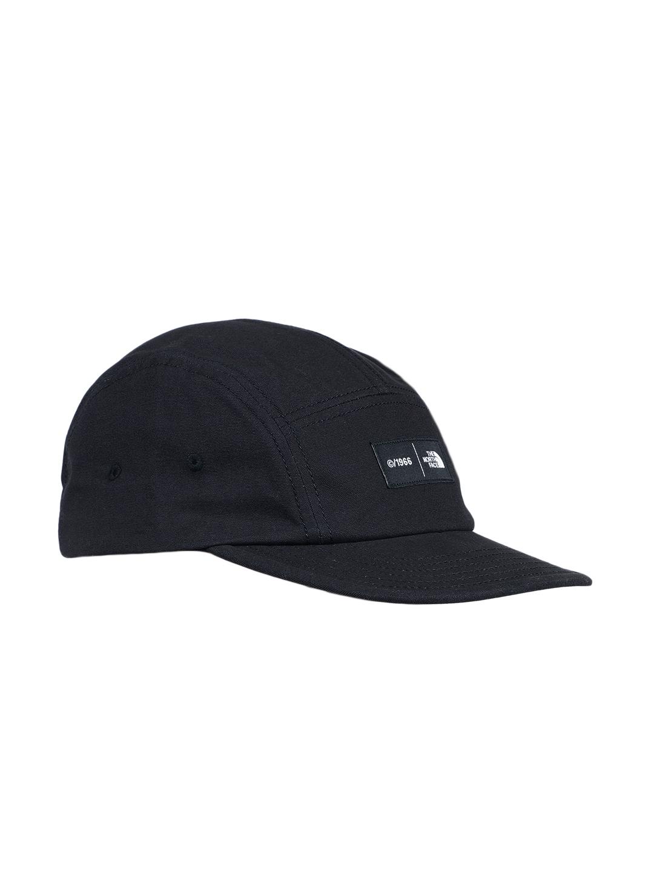 Buy The North Face Unisex Black TNF FIVE PANEL BALL Baseball Cap ... 689fa8cdc2b9