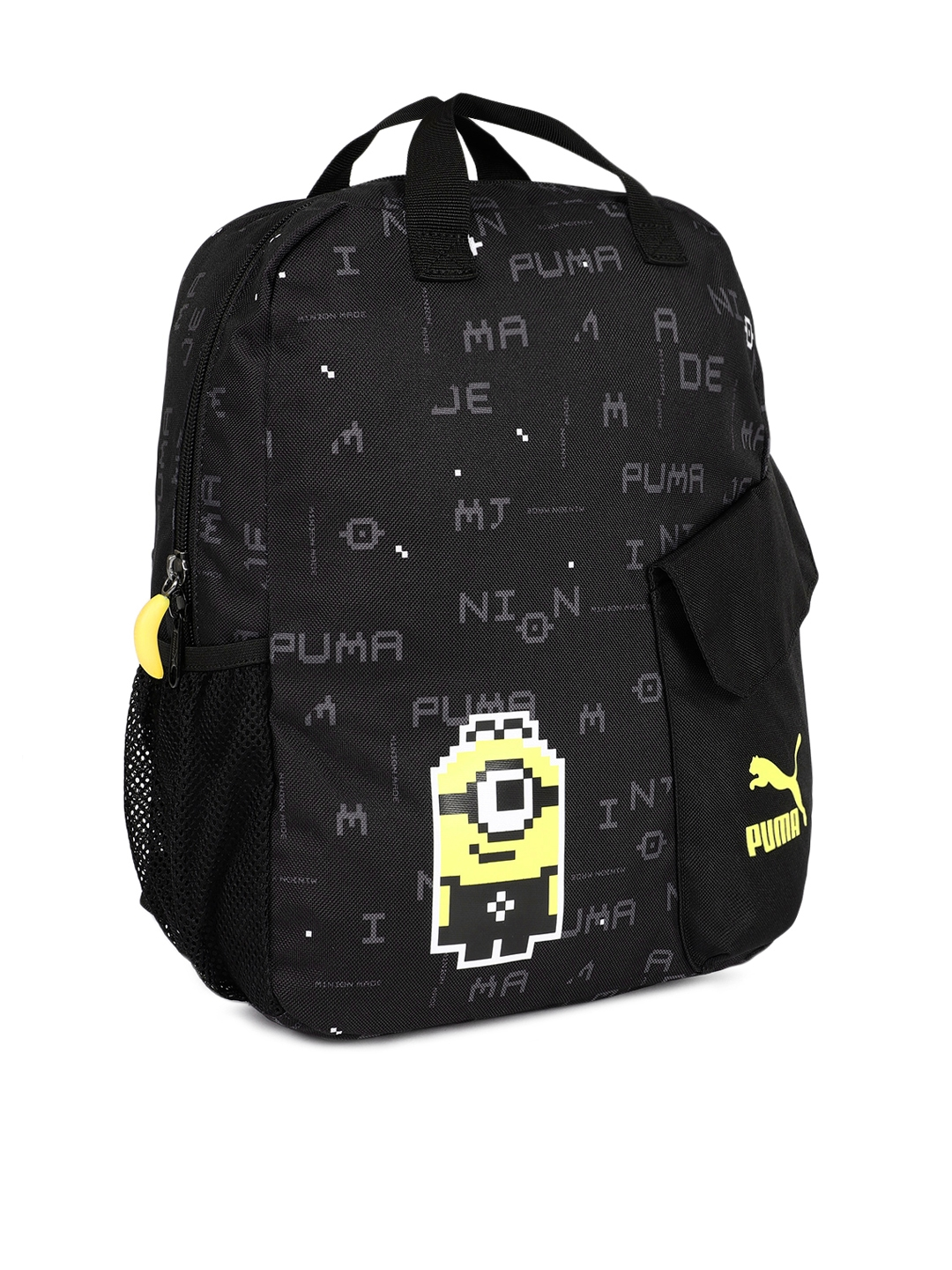Buy Puma Unisex Black Graphic Print Backpack - Backpacks for Unisex ... 60c7bb8089bd8