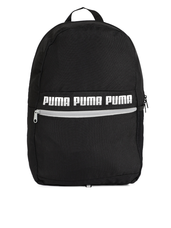 Puma Unisex Black Phase Laptop Backpack