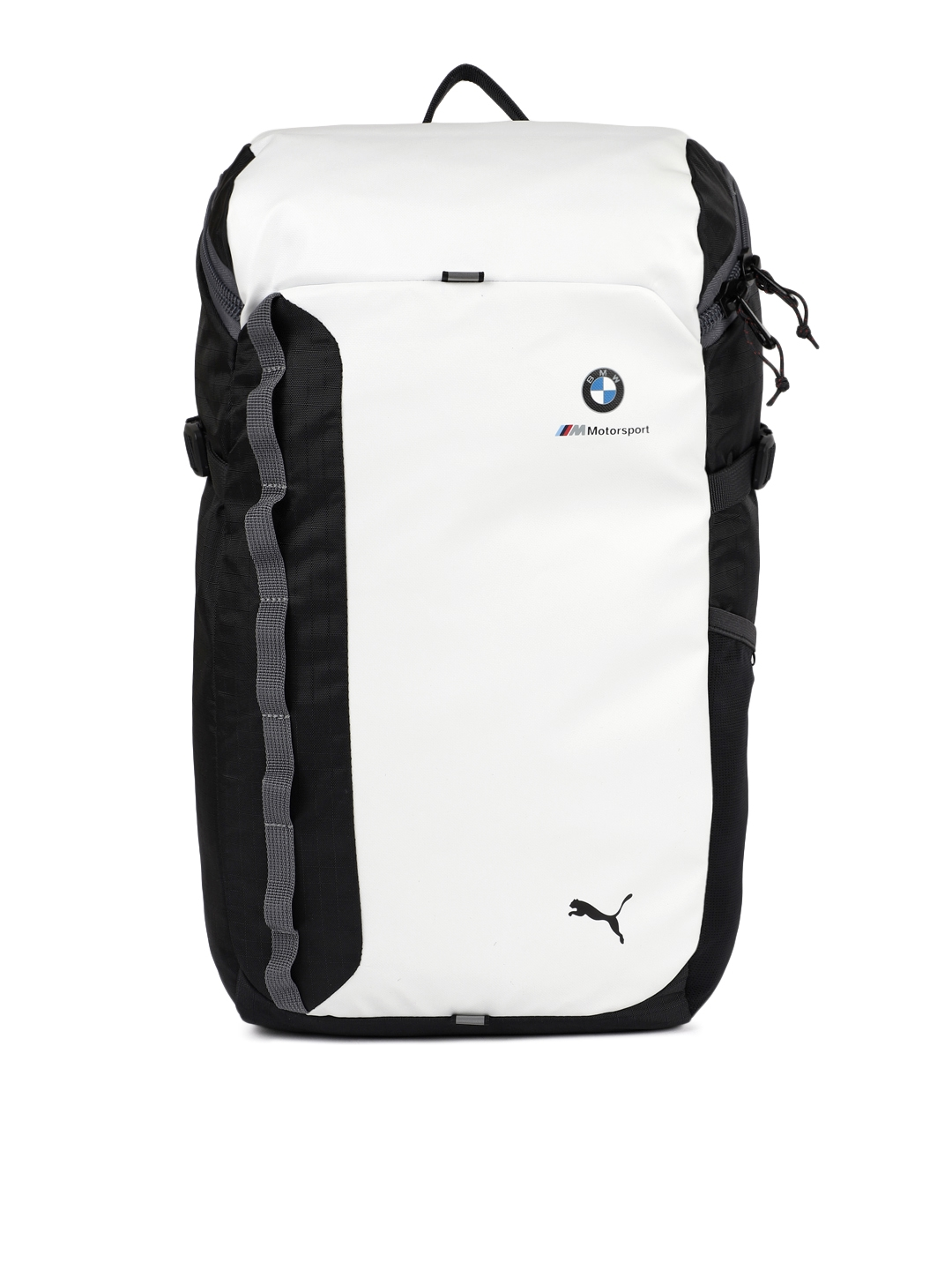 b48141a5f49 Puma Unisex White & Black BMW M MSP Laptop Backpack. This product is  already at its best price