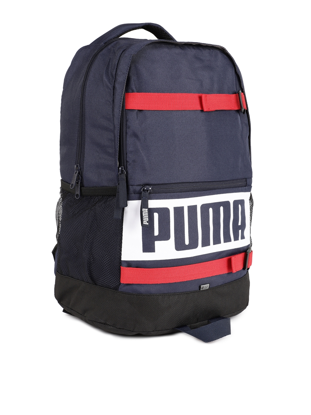 ad7f8b6831 Buy Puma Unisex Navy Blue Deck Laptop Backpack - Backpacks for ...