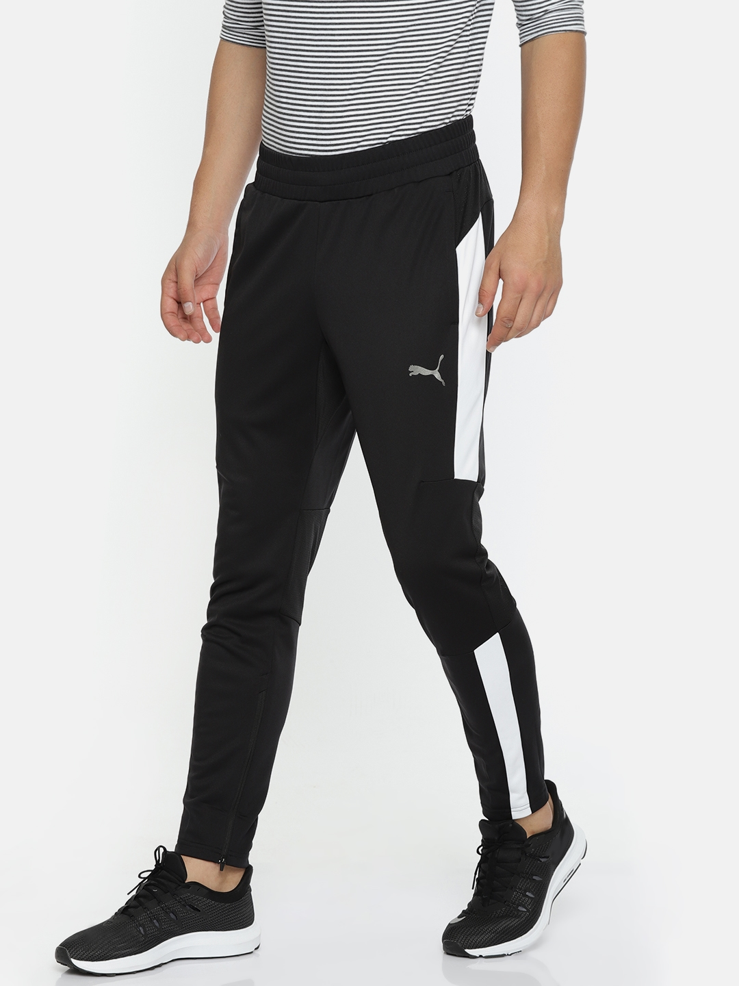 ab8de33510 Buy Puma Men Black Solid Energy Blaster Track Pants - Track Pants ...