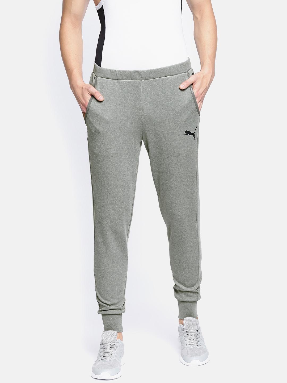 13eac201edd8df Buy Puma Grey Tec Sports Slim Fit Joggers - Track Pants for Men ...