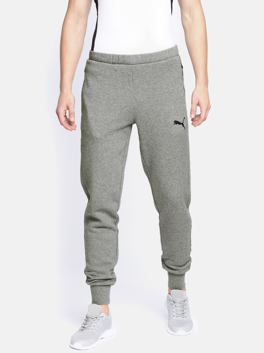 dd0865995265 Buy Puma Grey Modern Sports Pants Slim Fit Joggers - Track Pants for ...