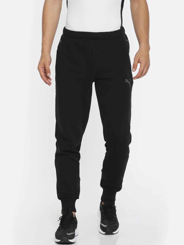 ac70e628c1ef Buy Puma Men Black Solid Modern Sports Pants FL Cl - Track Pants for ...