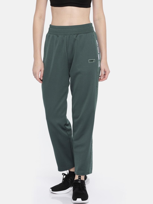 fffc34ce1302 Buy Puma Women Grey FUSION Track Pants - Track Pants for Women ...