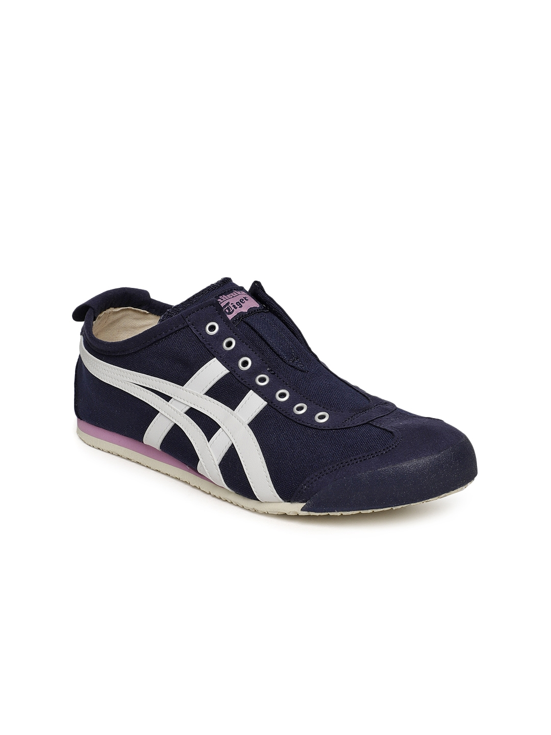 0cacd3c201f0ce Buy Onitsuka Tiger Mexico 66 Slip On Women Blue Sneakers - Casual ...