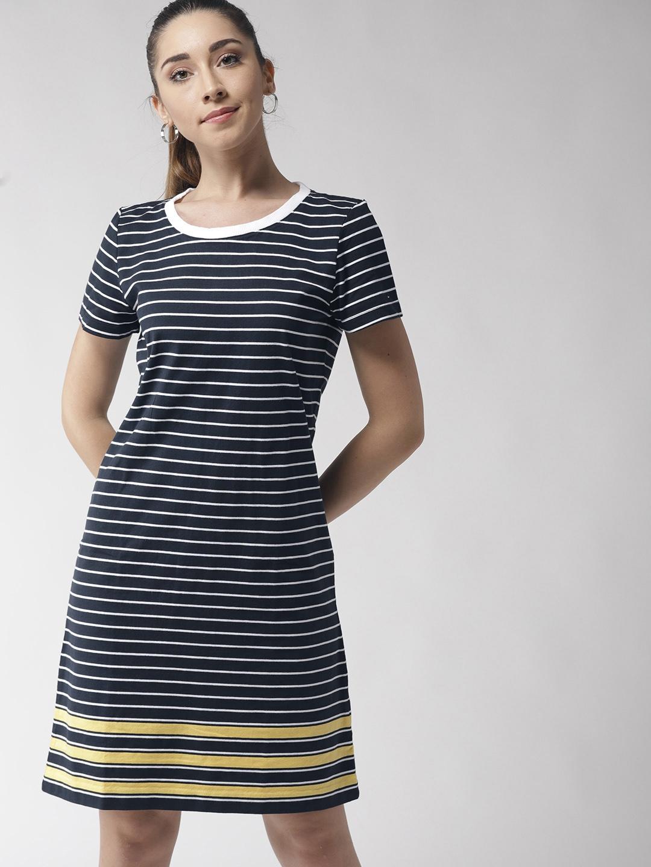 navy blue tommy hilfiger dress