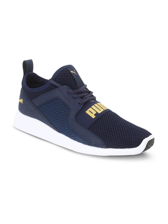 304e92e23b5e Buy Puma Men Navy Blue Running Shoes - Sports Shoes for Men 7041139 ...