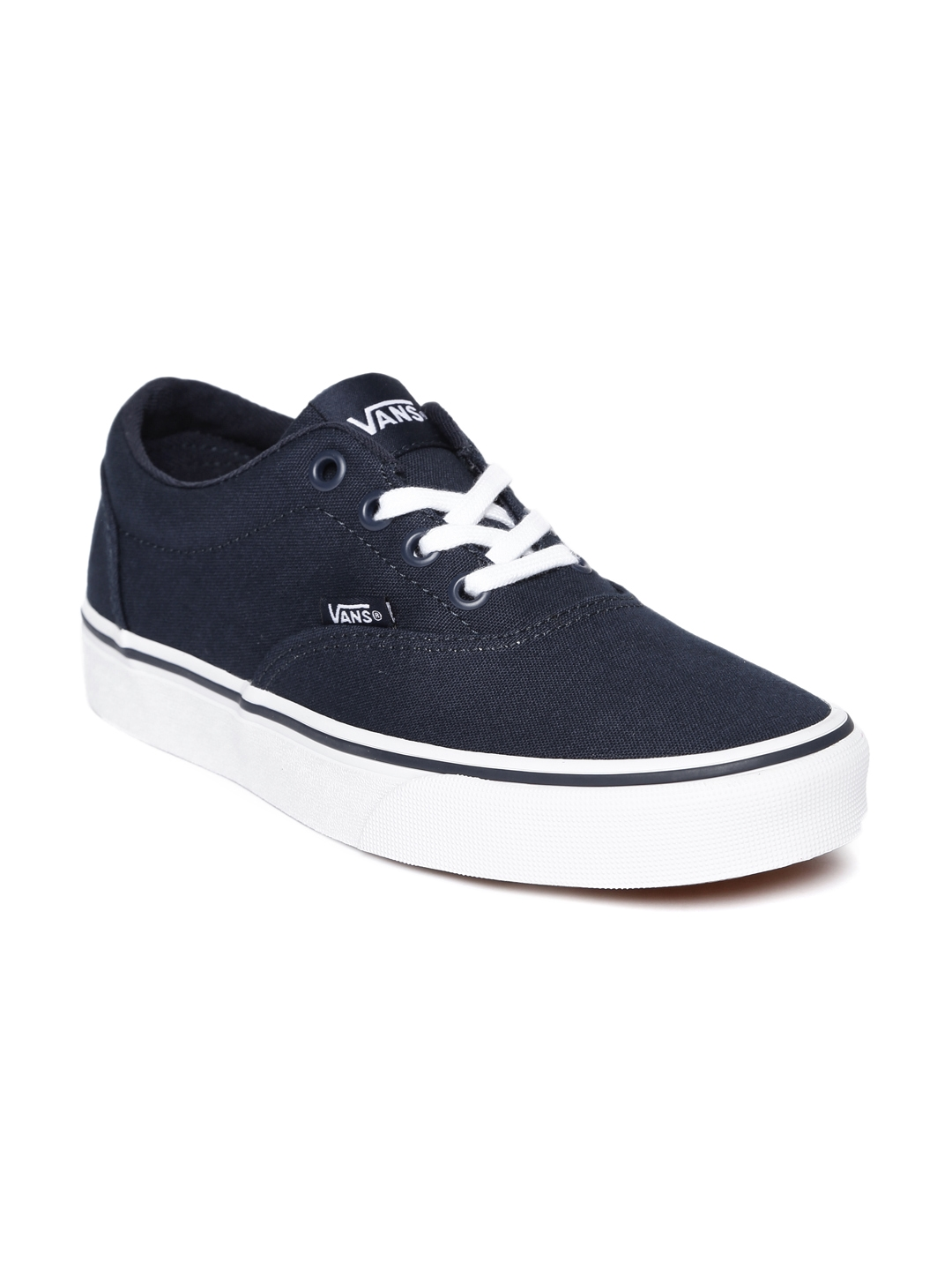 59b6effc31 Buy Vans Women Navy Blue Solid Doheny Sneakers - Casual Shoes for ...