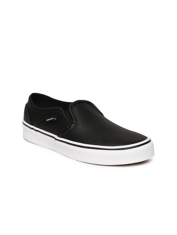 1e11568173 Buy Vans Women Asher Black Sneakers - Casual Shoes for Women 7048959 ...