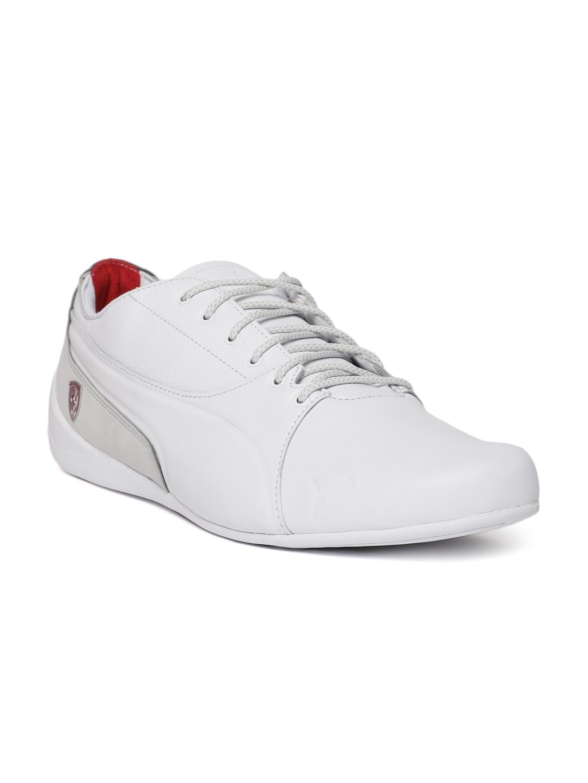 23ba82e100ba40 Buy Puma Men White SF Drift Cat 7 LS Leather Sneakers - Casual Shoes ...