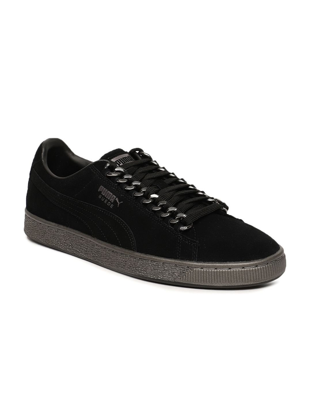 ce5461aa0c4b Buy Puma Men Black Suede Classic X Chain Sneakers - Casual Shoes for ...