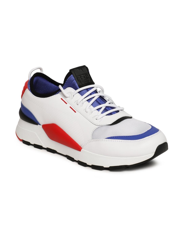 7d6d8c43b9b Buy Puma Men White RS 0 808 Sneakers - Casual Shoes for Men 7072926 ...