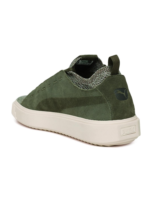 cc19174f76f607 Buy Puma Men Green Breaker Knit Baroque Sneakers - Casual Shoes for ...