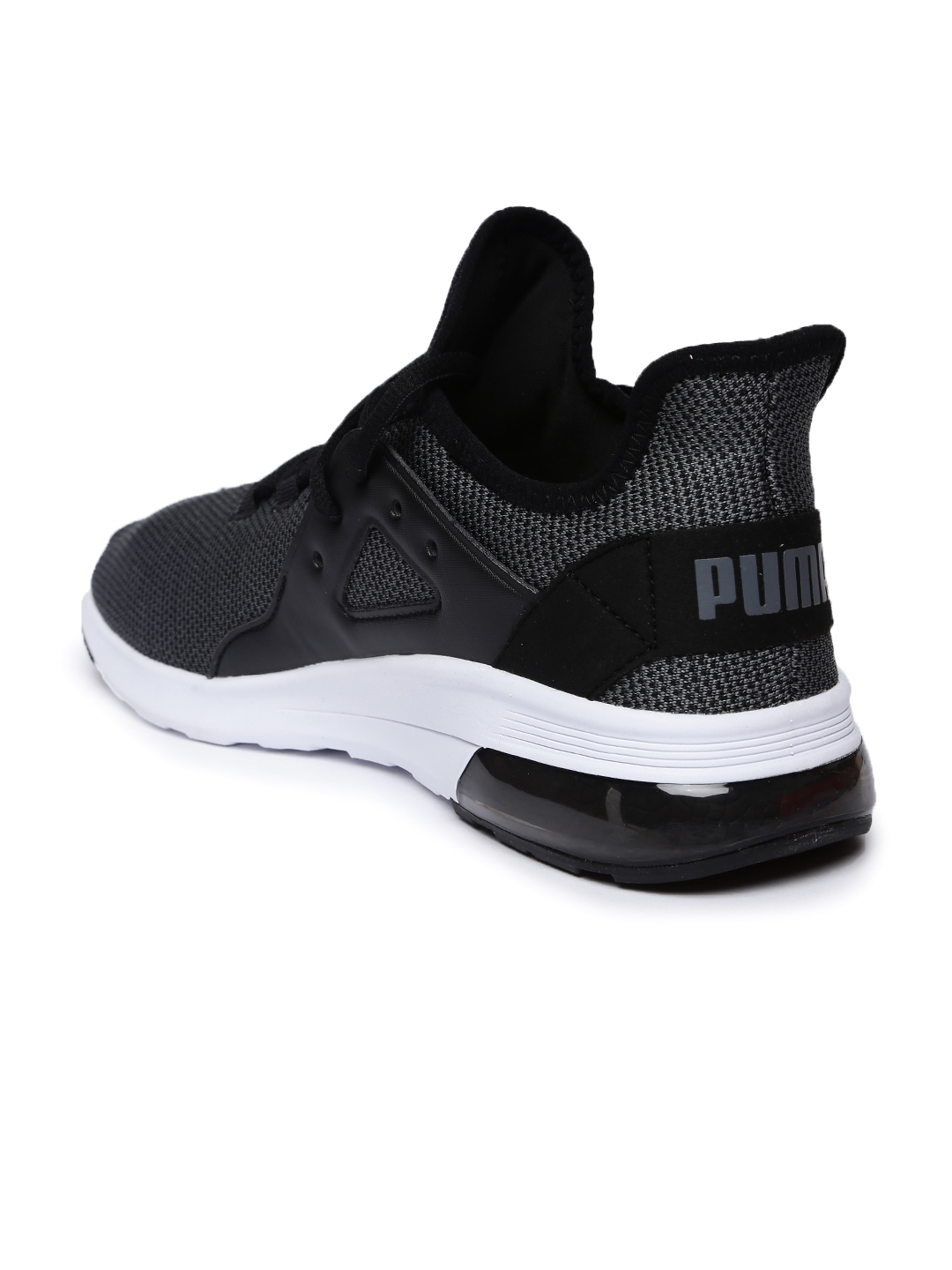 8865dfe630aca4 Buy Puma Men Black Electron Street Knit Sneakers - Casual Shoes for ...