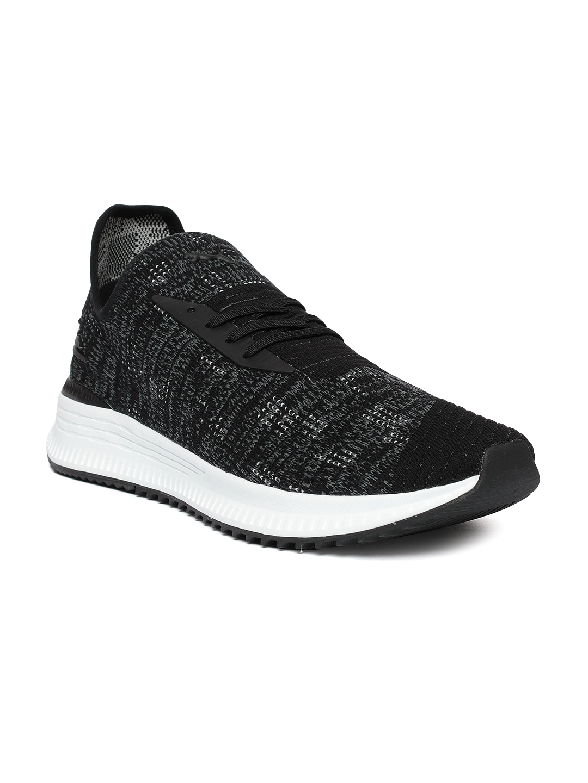 24a02c860d0f35 Buy Puma Men Black AVID EvoKNIT Mosaic Sneakers - Casual Shoes for ...